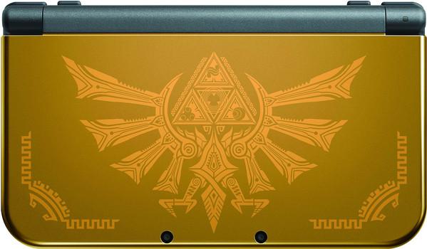 Nintendo New 3DS XL noire et or [Hyrule Edition]