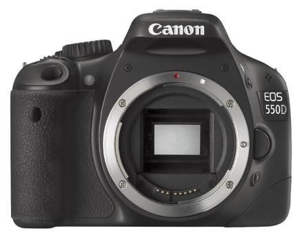 Canon EOS 550D body zwart