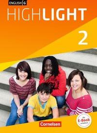 English G Highlight - Hauptschule / Band 2: 6. Schuljahr - Schülerbuch. Festeinband - Susan Abbey  [Gebundene Ausgabe]