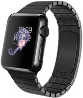 Apple Watch 38 mm spacezwart met schakelarmband zwart [wifi]