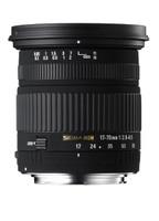 Sigma 17-70 mm F2.8-4.5 DC Macro 72 mm Objectif (adapté à Nikon F) noir