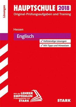 Abschlussprüfung Hauptschule Hessen - Englisch Lösungsheft [Taschenbuch]