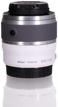 Nikon 1 NIKKOR 30-110 mm F3.8-5.6 VR 40,5 mm filter (geschikt voor Nikon 1) wit
