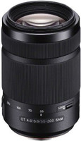 Sony 55-300 mm F4.5-5.6 DT SAM 62 mm Objetivo (Montura Sony A-mount ) negro