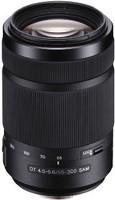 Sony 55-300 mm F4.5-5.6 DT SAM 62 mm Objectif (adapté à Sony A-mount ) noir