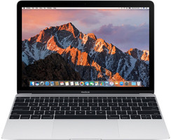 Apple MacBook 12 (Retina Display) 1.2 GHz Intel Core M3 8 Go RAM 256 Go PCIe SSD [Milieu 2017, clavier anglais, QWERTY] argent