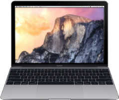 "Apple MacBook 12"" (Retina) 1.2 GHz Intel Core M 8 Go RAM 512 Go PCIe SSD [Début 2015, clavier anglais, QWERTY] gris sidéral"