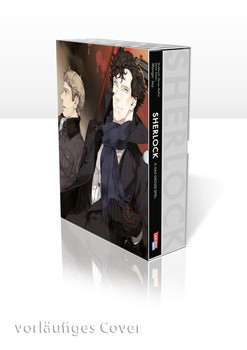 Sherlock 3 mit Schuber. Das große Spiel - Mark Gatiss  [Taschenbuch]