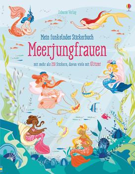 Mein funkelndes Stickerbuch: Meerjungfrauen - Fiona Watt  [Taschenbuch]