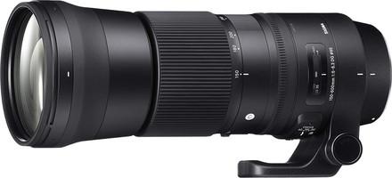 Sigma C 150-600 mm F5.0-6.3 DG HSM OS 95 mm Objetivo (Montura Nikon F) negro
