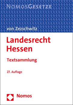 Landesrecht Hessen. Textsammlung [Taschenbuch]