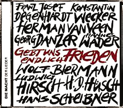 Various - Gebt Uns Endlich Frieden