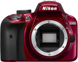 Nikon D3400 body rood