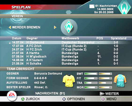 Fussball Manager 2005 Ea Sports