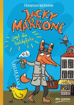 Jacky Marrone jagt die Goldpfote - Franziska Biermann  [Gebundene Ausgabe]