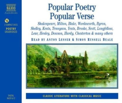 Anton Lesser - Popular Poetry/Popular Verse Vol. 1