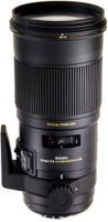 Sigma 180 mm F2.8 APO DG EX HSM OS Macro 86 mm Objetivo (Montura Canon EF) negro