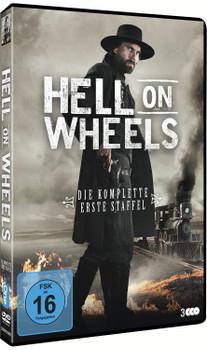 Hell on Wheels - Die komplette erste Staffel [3 DVDs]