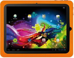"Easypix EasyPad Junior 4.0 7"" 4GB [WiFi, con custodia] nero e argento"