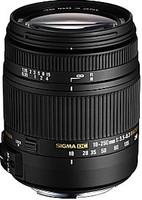 Sigma 18-250 mm F3.5-6.3 DC HSM OS Macro 62 mm Objectif (adapté à Pentax K) noir