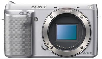 Sony Alpha NEX-F3 Cuerpo plata