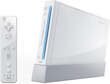 Nintendo Wii [plus controller incluso, console senza gioco, compatibile con Gamecube] bianco