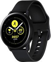 Samsung Galaxy Watch Active 40 mm nero con cinturino sportivo nero [Wi-Fi]
