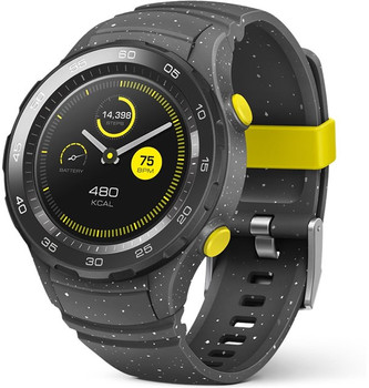 Huawei Watch 2 45 mm met grijze sportband [wifi] grijs