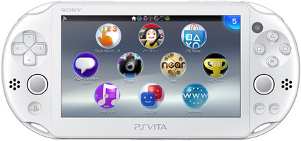 Sony PlayStation Vita Slim [wifi, JP Import] wit