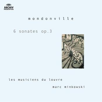 Les Musiciens du Louvre - Mondonville - 6 Sonates Opus 3 / Les Musiciens du Louvre, Minkowski