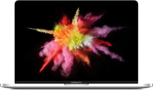 Apple MacBook Pro met touch bar en touch ID 13.3 (retina-display) 2.9 GHz Intel Core i5 8 GB RAM 256 GB PCIe SSD [Late 2016, QWERTY-toetsenbord] spacegrijs