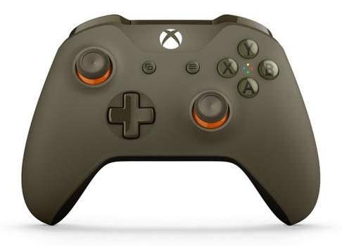 Microsoft Xbox One Wireless Controller SE olivgrün