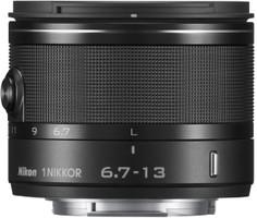 Nikon 1 NIKKOR 6,7-13 mm F3.5-5.6 VR 52 mm filter (geschikt voor Nikon 1) zwart