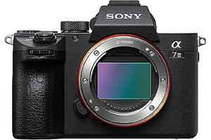 Sony Alpha 7 III body zwart