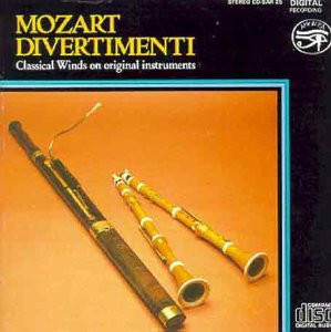 Lawson - Mozart Divertimenti for Woods