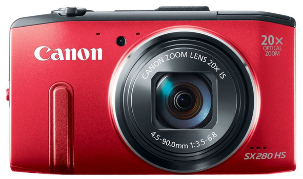 Canon PowerShot SX280 HS rood