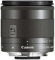 Canon EF-M 11-22 mm F4.0-5.6 IS STM 55 mm filter (geschikt voor Canon EF-M) zwart