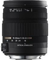 Sigma 18-50 mm F2.8-4.5 DC HSM OS 67 mm filter (geschikt voor Pentax K) zwart