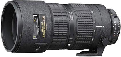 Nikon AF NIKKOR 80-200 mm F2.8 D ED 77 mm Objectif (adapté à Nikon F) noir