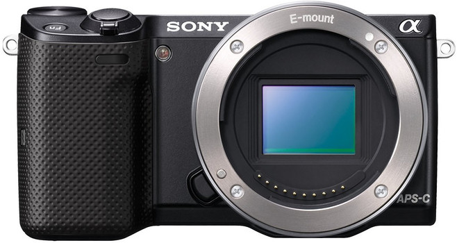 Sony Alpha NEX 5 body zwart
