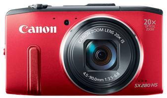 Canon PowerShot SX280 HS rouge