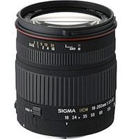 Sigma 18-200 mm F3.5-6.3 DC 62 mm Objectif (adapté à Nikon F) noir