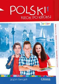 POLSKI krok po kroku - junior 1. Zeszyt ćwiczeń, Übungsbuch + MP3-CD [Taschenbuch]