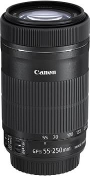 Canon EF-S 55-250 mm F4.0-5.6 IS STM 58 mm Objectif (adapté à Canon EF-S) noir