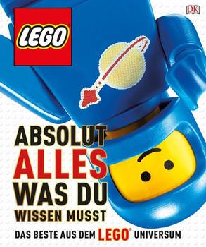 LEGO® Absolut alles was du wissen musst. Das Beste aus dem LEGO® Universum - Simon Hugo  [Gebundene Ausgabe]