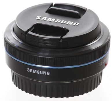 Samsung NX 30 mm F2.0 43 mm Filteregwinde (geschikt voor Samsung NX) zwart