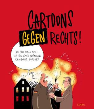 Cartoons gegen rechts [Gebundene Ausgabe]