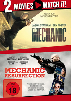 The Mechanic / Mechanic: Resurrection [2 DVDs]