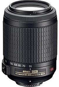 Nikon AF-S DX NIKKOR 55-200 mm F4.0-5.6 ED G IF VR 52mm filter (geschikt voor Nikon F) zwart