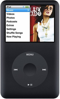 Apple iPod classic 6G 120GB negro
